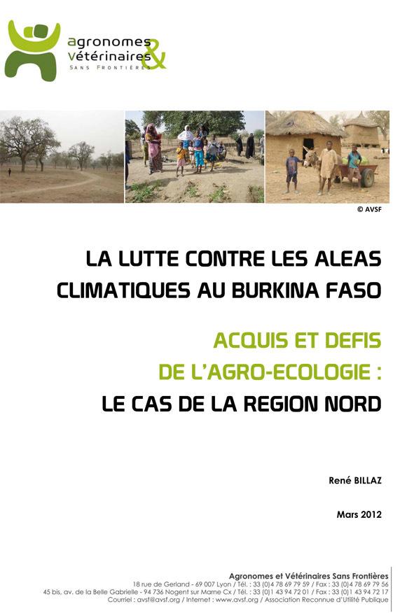 Thumbnail - La lutte contre les aléas climatiques au Burkina Faso : acquis et défis de l'agroécologie dans la Région Nord